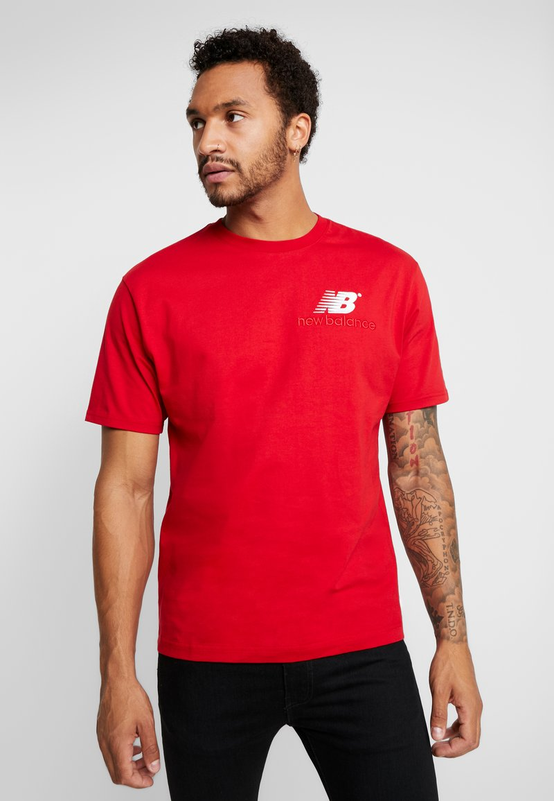 New Balance - ATHLETICS PREMIUM ARCHIVE - T-shirt - bas - team red
