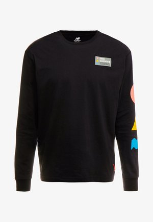 TRAIL TEE - Camiseta de manga larga - black