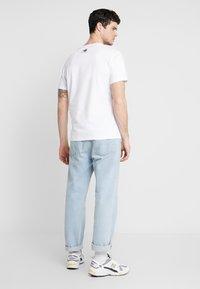 New Balance - TRAIL TEE - T-shirts print - munsell white - 2