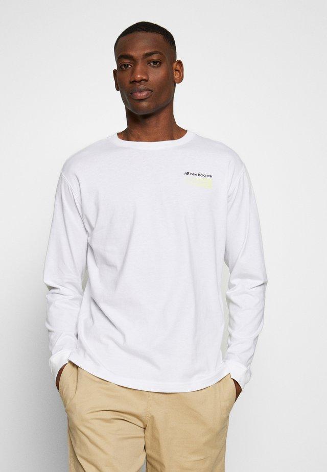 SPORT STYLE OPTIKS - T-shirt à manches longues - white