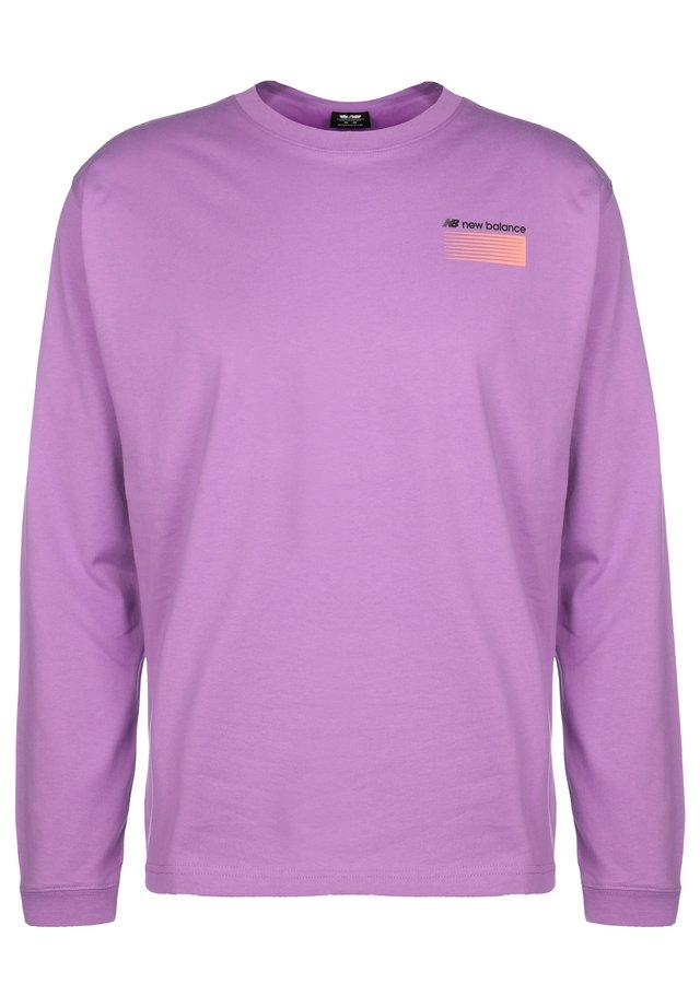 SPORT STYLE OPTIKS - T-shirt à manches longues - neoviolet