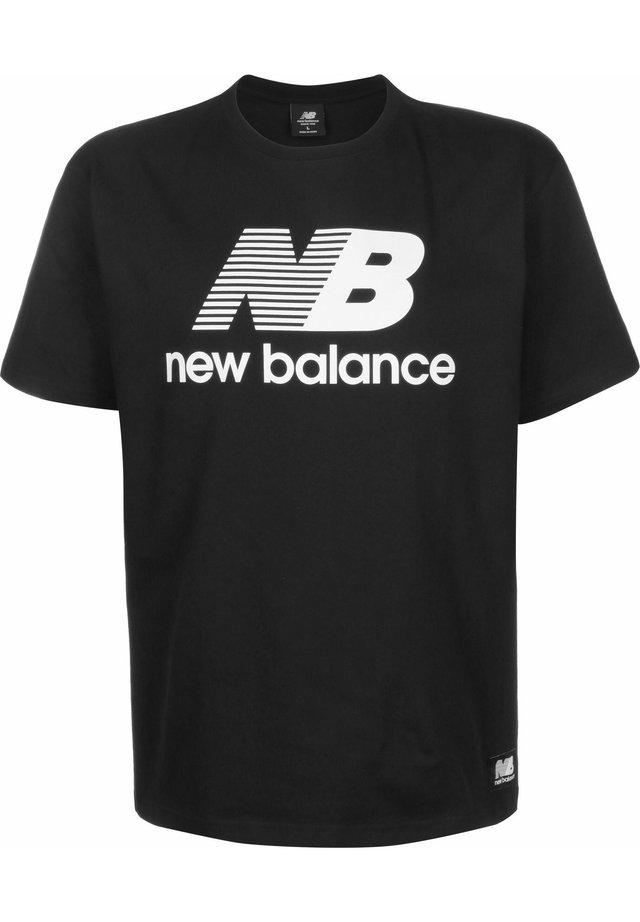 T-shirt imprimé - bk black