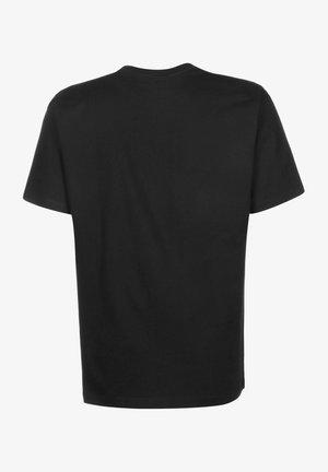 Print T-shirt - bk black