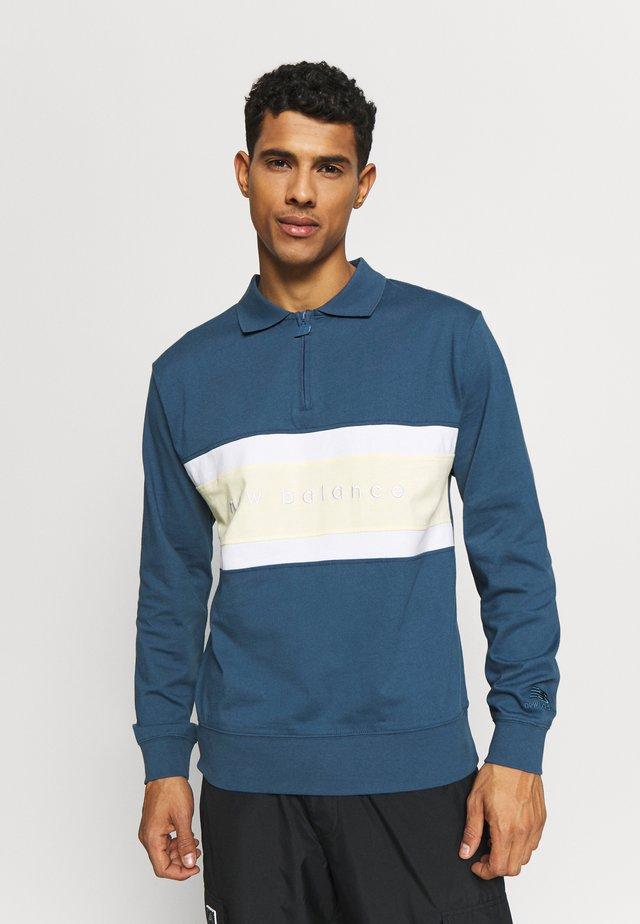 Polo shirt - stoneblue