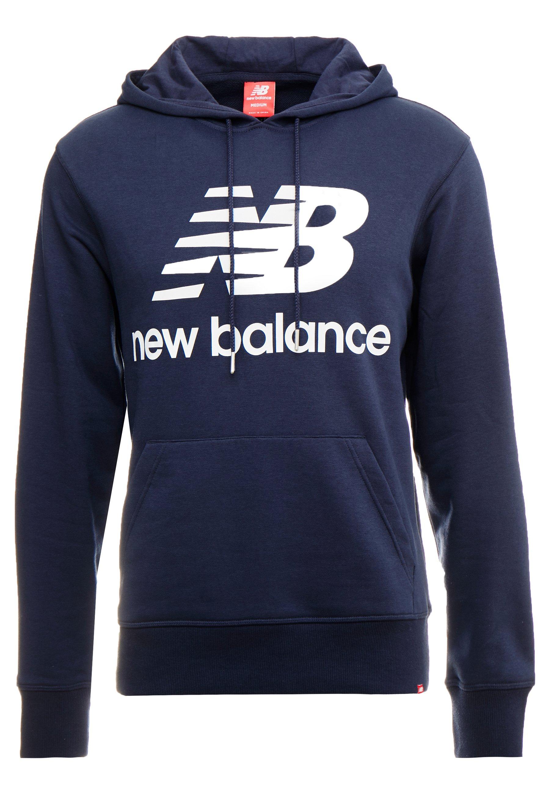new balance sweat-shirt avec capuche