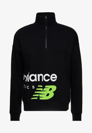 Sweatshirt - black/lime