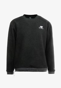 New Balance - TRAIL SHERPA CREW - Sweat polaire - black - 6