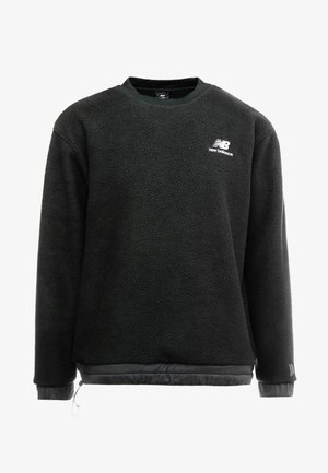TRAIL SHERPA CREW - Sweat polaire - black
