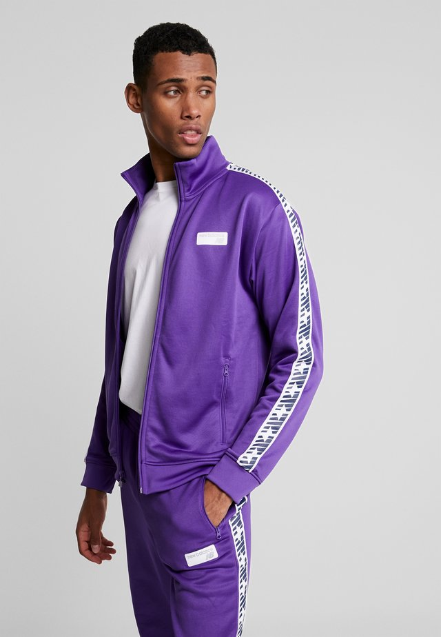 ATHLETICS CLASSIC TRACK JACKET - Trainingsvest - prism purple