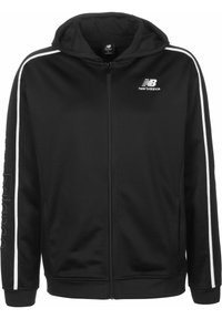 New Balance - TRAININGSJACKE MJ01512 - Veste de survêtement - bk black - 0