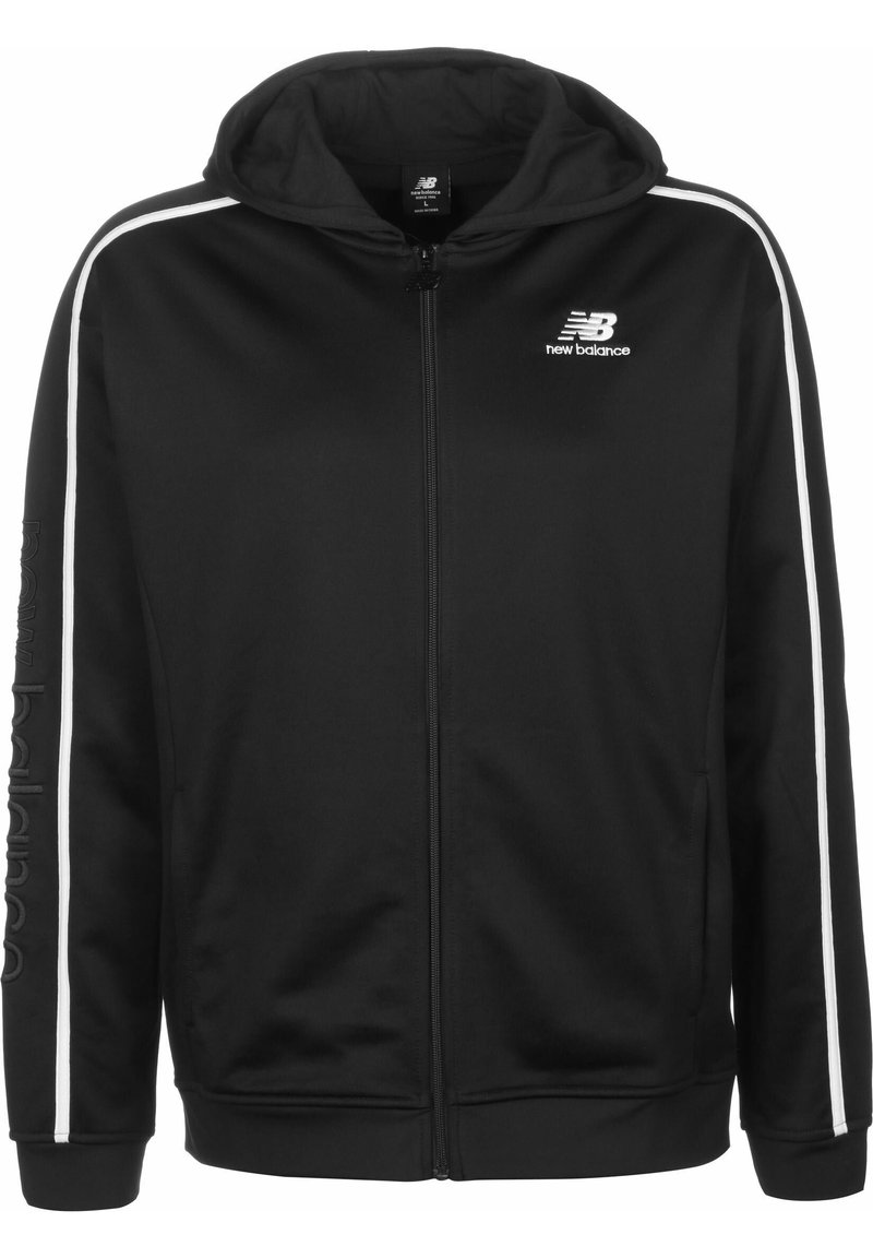 New Balance - TRAININGSJACKE MJ01512 - Veste de survêtement - bk black