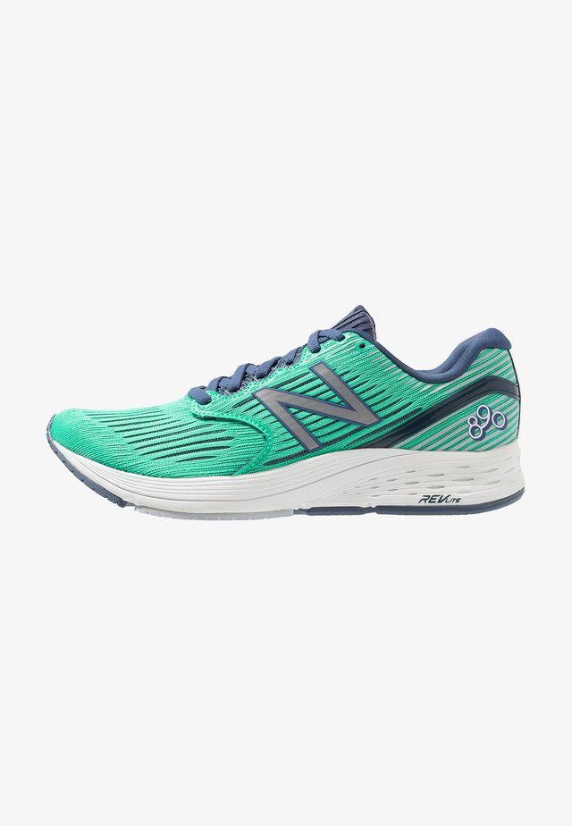 W 890 LONDON - Neutral running shoes - neon emerald