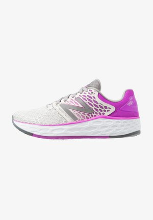 VONGO - Stabilty running shoes - white/purple