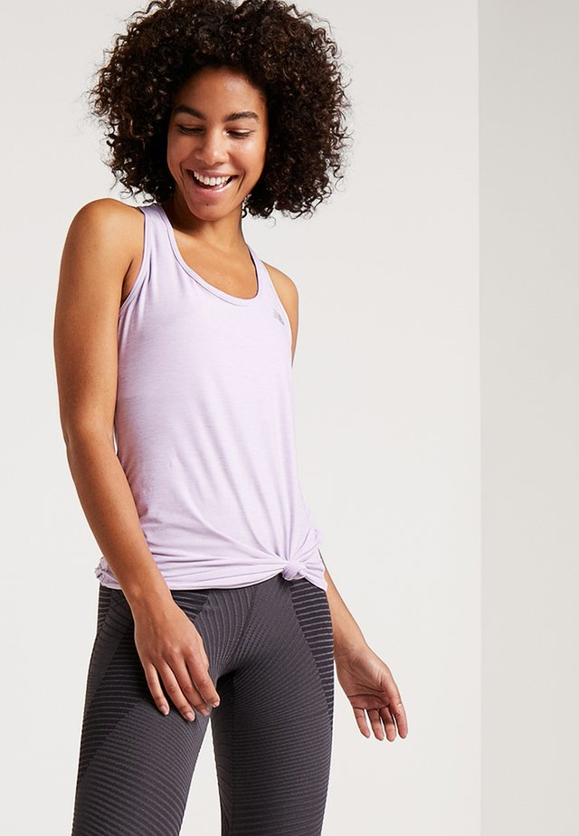 TRANSFORM PERFECT TANK - Sportshirt - purple