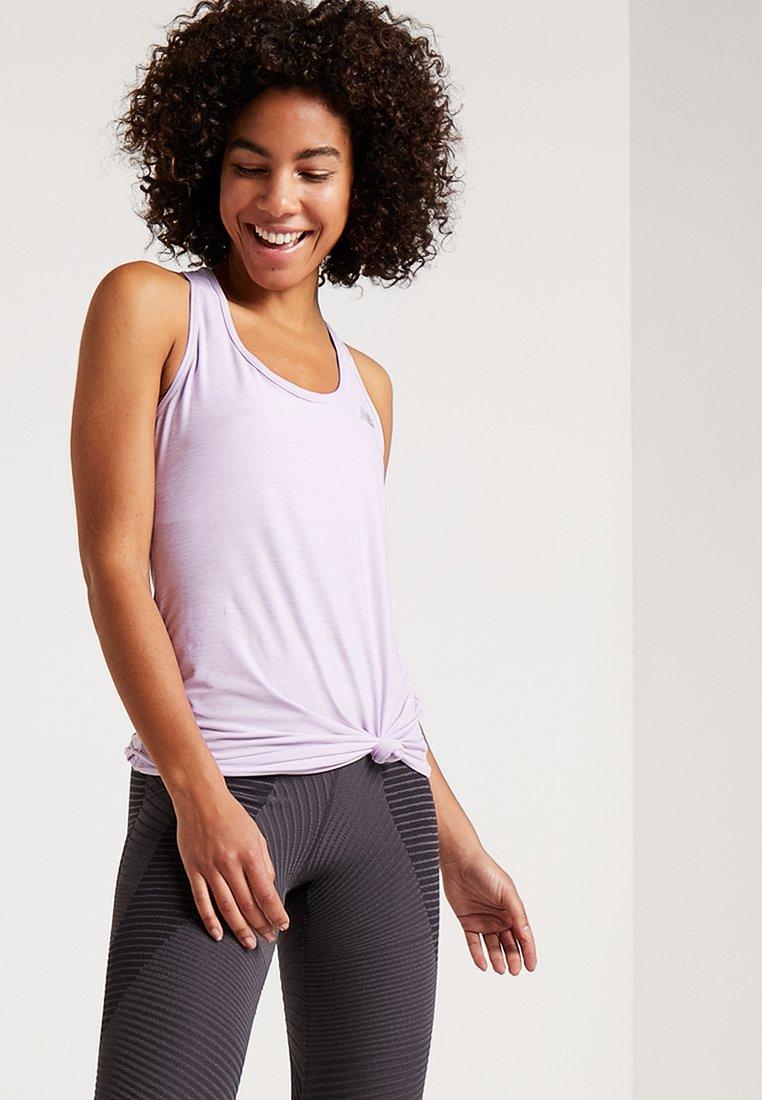 New Balance - TRANSFORM PERFECT TANK - Funkční triko - purple