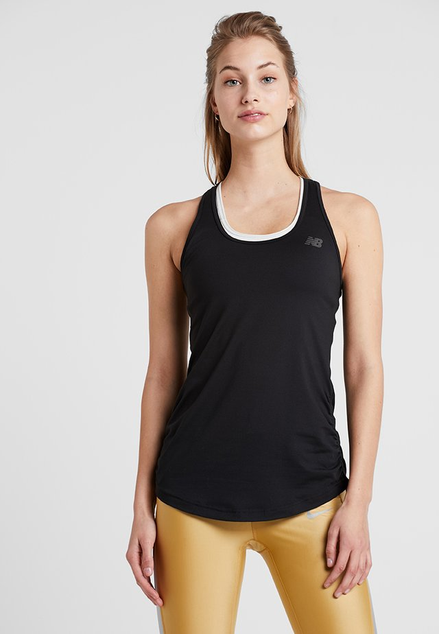 TRANSFORM PERFECT TANK - Sportshirt - black