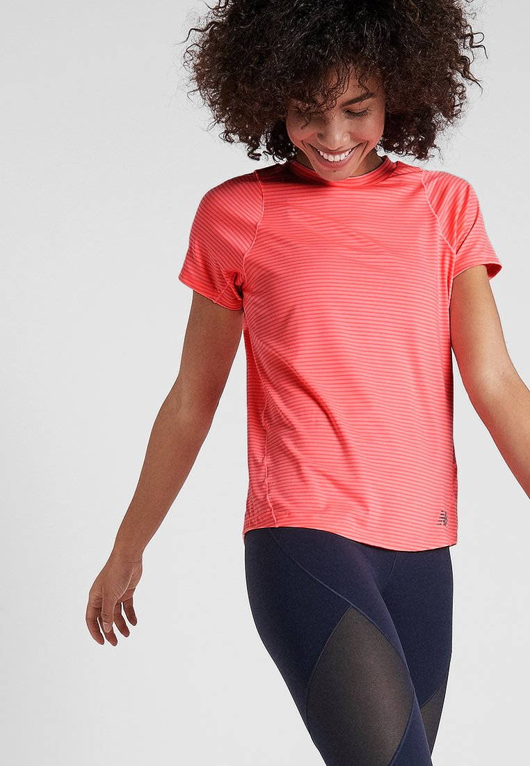 New Balance - SEASONLESS  - T-Shirt print - guava