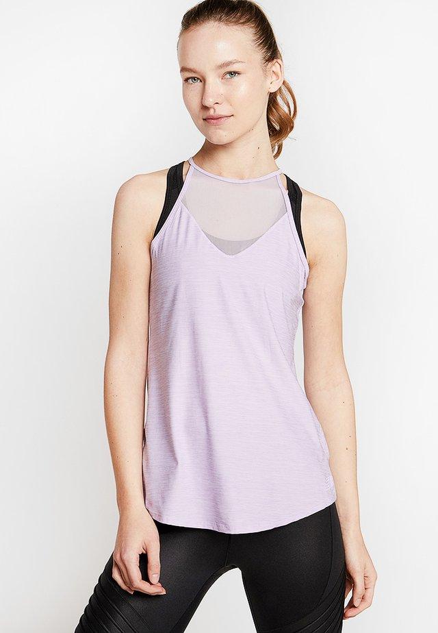 CAPTIVATE KEYHOLE TANK - Sportshirt - purple