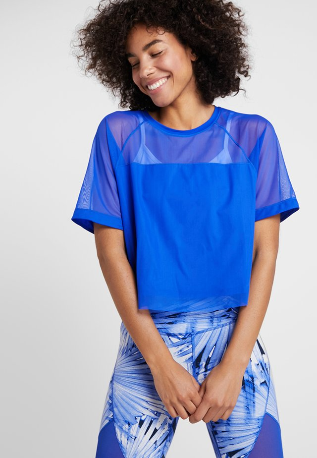 FEEL THE COOL  - T-shirt print - blue