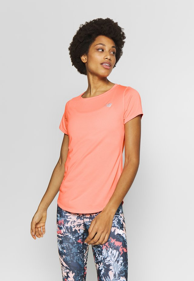 ACCELERATE SHORTSLEEVE  - T-paita - coral