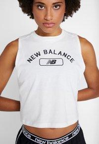 New Balance - RELENTLESS CROP NOVELTY TANK - Top - seasalt - 5