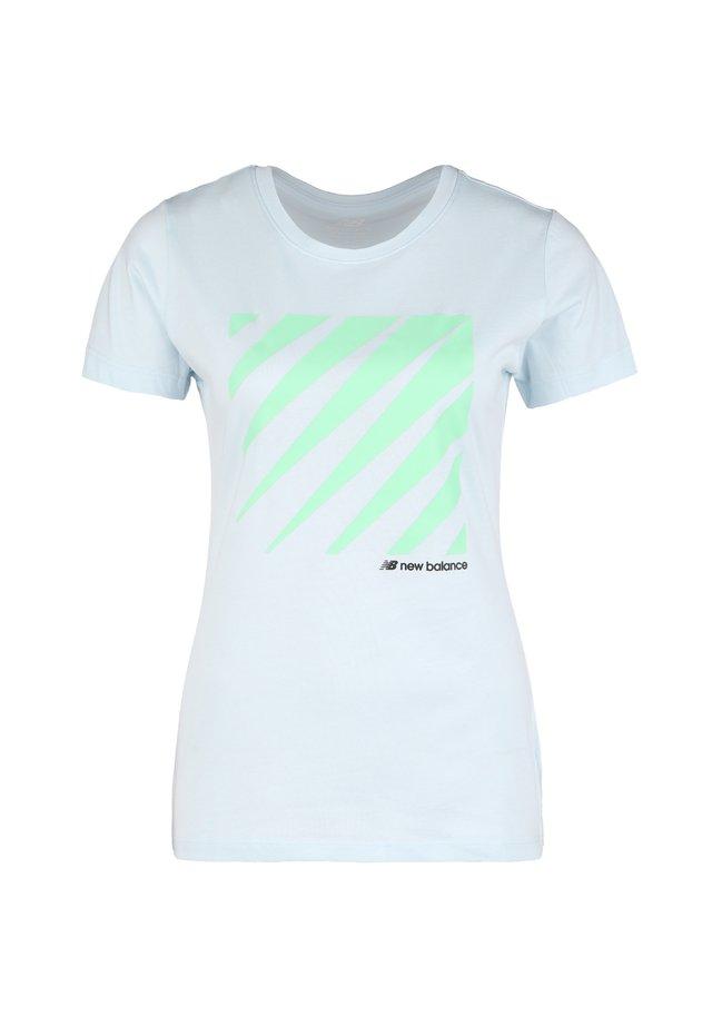 SPORT STYLE T-SHIRT DAMEN - T-Shirt print - moondust