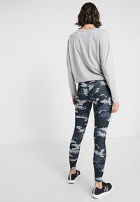 New Balance - PRINTED ACCELERATE  - Leggings - black heather - 2