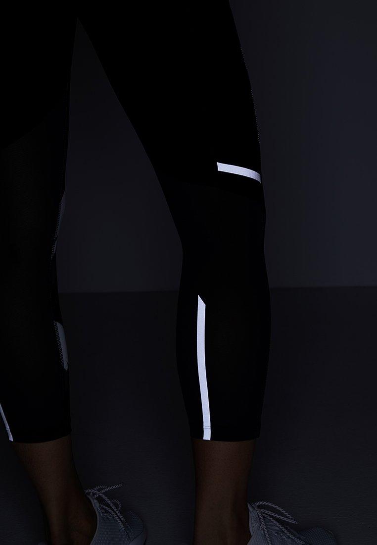 New De Balance DamenPantalon 3 Black Impact 4 Sport Capri Printed dsQrht