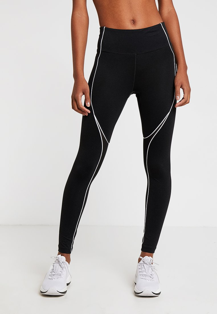 New Balance - ENERGIZE - Tights - black/white