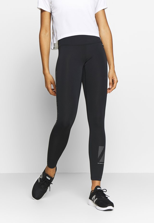 REFLECTIVE ACCELERATE - Tights - black