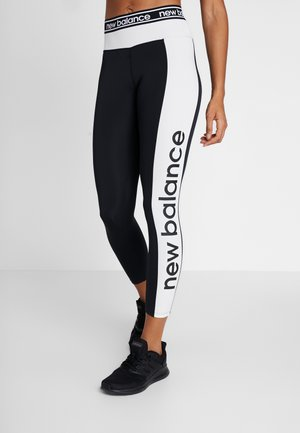 RELENTLESS GRAPHIC HIGH RISE 7/8 - Leggings - black