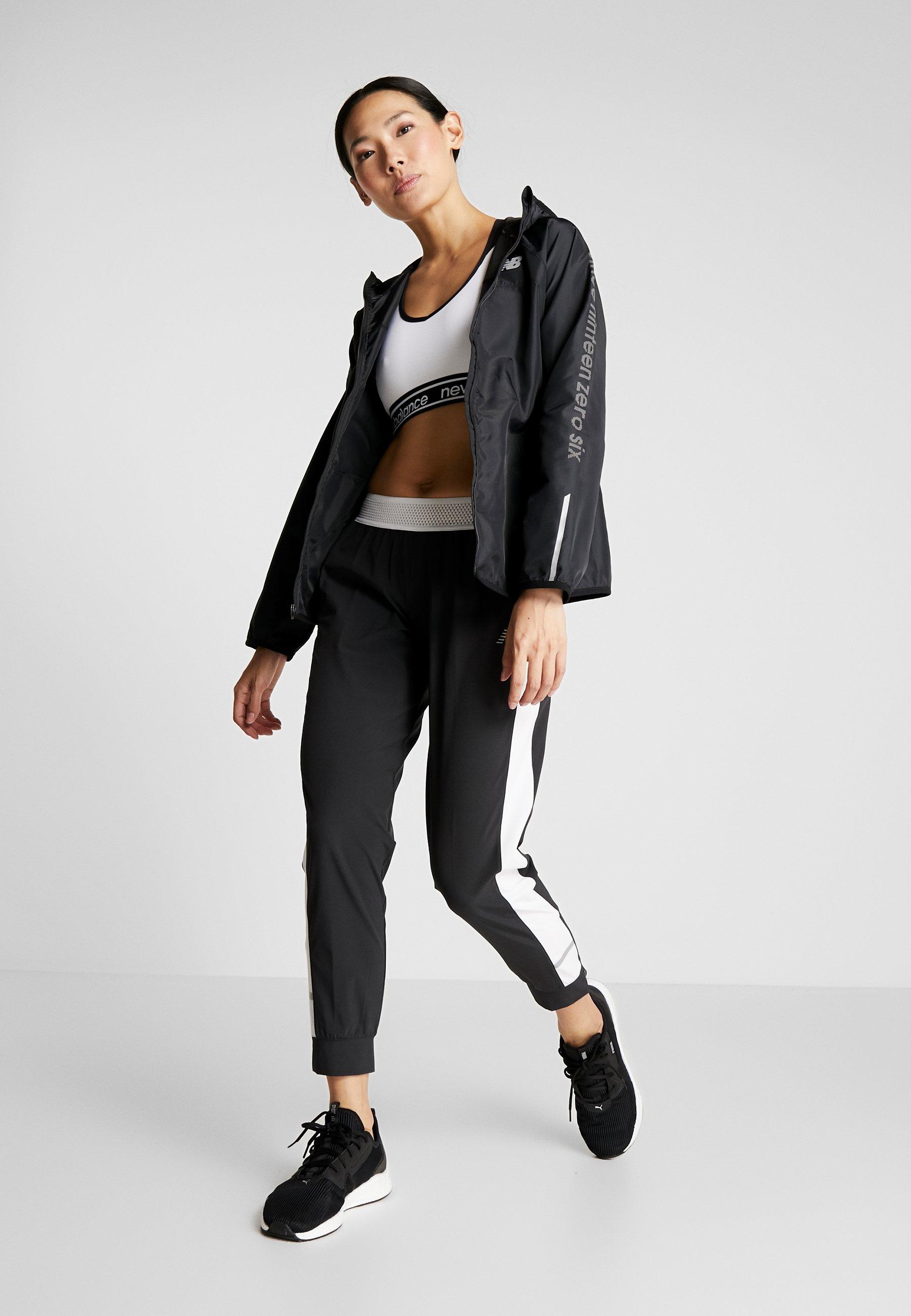 New Balance Accelerate Windcheater Reflective Jacket - Sports Black