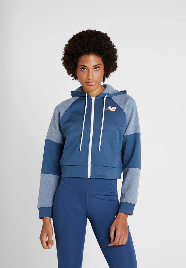 ACHIEVER FULL ZIP - veste en sweat zippée - stoneblu