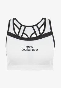 New Balance - PULSE BRA - Sport-bh - white/black - 7