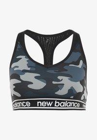 New Balance - PACE BRA PRINTED 2.0 - Sport-bh - black - 4