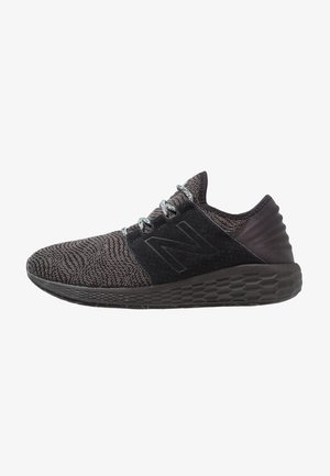 FRESH FOAM CRUZ - Neutrala löparskor - black/grey