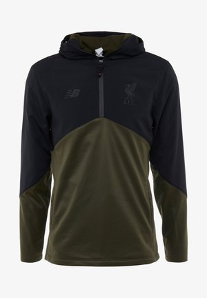 LIVERPOOL FC VECTOR SPEED TOP - Sweat à capuche - black/forest night