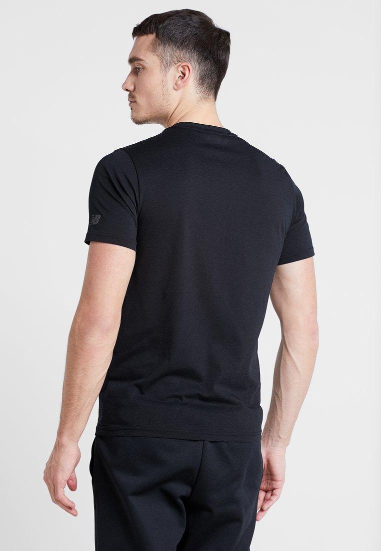 HeathertechT New Graphic Imprimé Black shirt Balance UzSpVM
