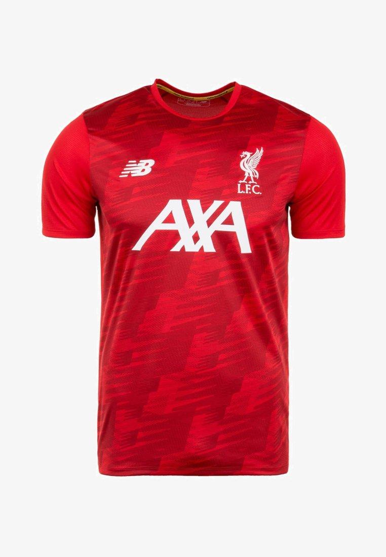 New Balance - T-Shirt print - red/white