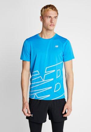 PRINTED ACCELERATE - T-shirt print - vision blue