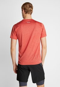 New Balance - IMPACT RUN - Print T-shirt - red heather - 2