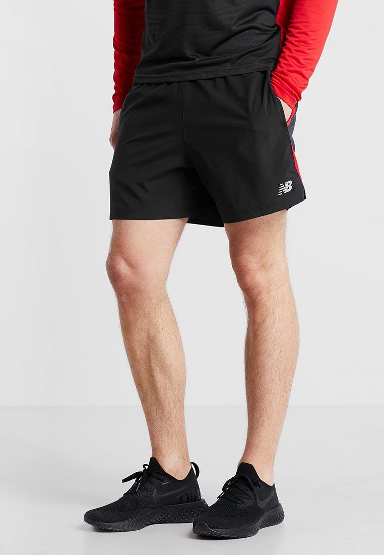 New Balance - ACCELERATE SHORT - Pantalón corto de deporte - black multi