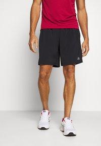 New Balance - ACCEL SHORT - Pantalón corto de deporte - black - 0