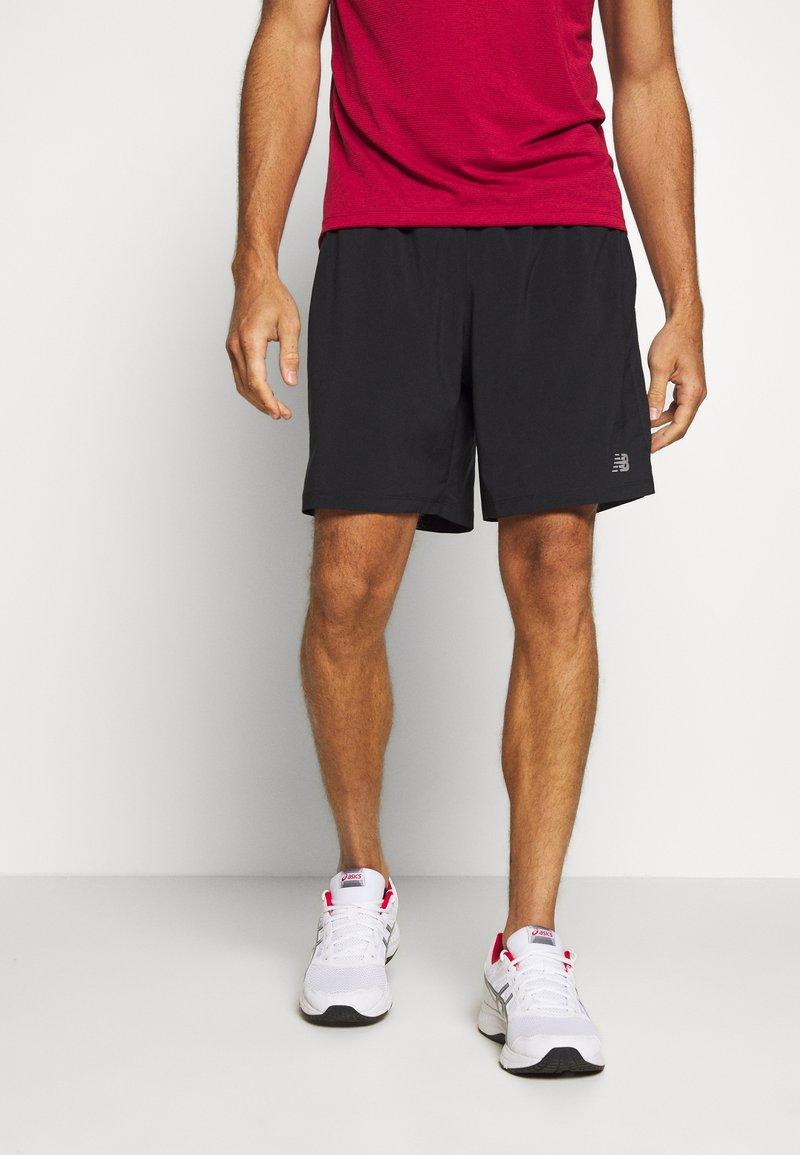 New Balance - ACCEL SHORT - Pantalón corto de deporte - black