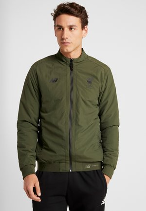 LIVERPOOL FC TERRACE GAME JACKET - Ulkoilutakki - forest night