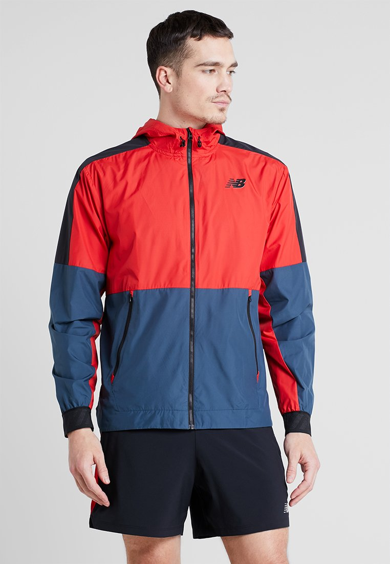 JacketVeste Running New Team Red Balance Lightweight De OPuXTwZik