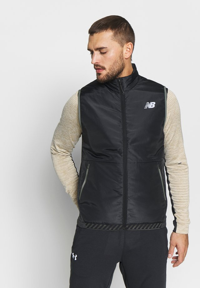 HEAT GRID VEST - Veste sans manches - black heather