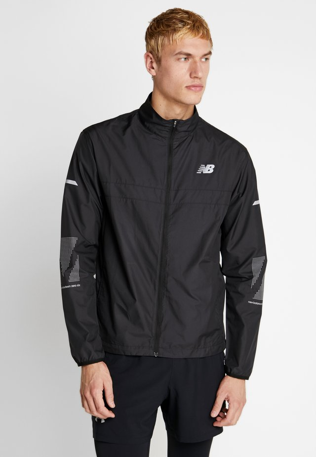 REFLECTIVE ACCELERATE JACKET - Veste de running - black