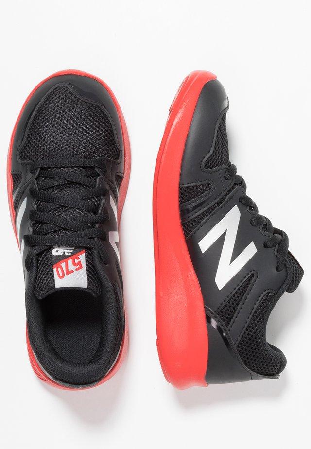 570 - Zapatillas de running neutras - black/red