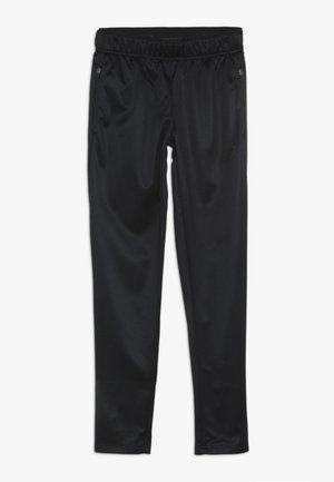 JUNIOR SLIM PANT - Teplákové kalhoty - black
